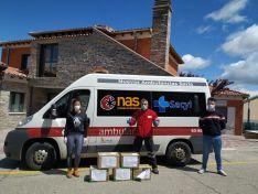 Estas 26 asociaciones de Tierras Altas han donado 4.000 guantes y 300 mascarillas a la sanidad soriana