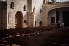 Primeras misas en Soria de la era Covid19. Viksar Fotografía