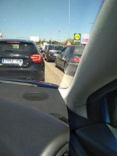 Foto 2 - Atascos para 'escapar' de Soria en el primer fin de semana en Fase 1