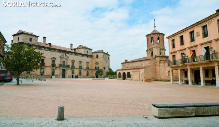 Una imagen de la plaza Mayor de Almazán. /SN
