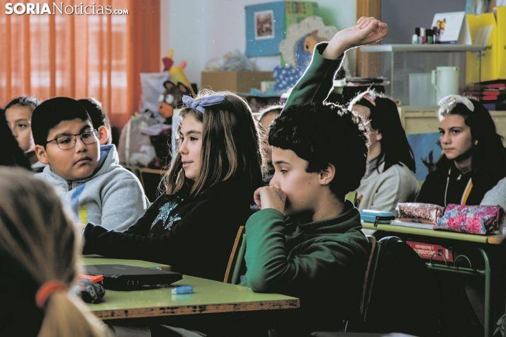 Imagen de archivo de una clase en Las Pedrizas.