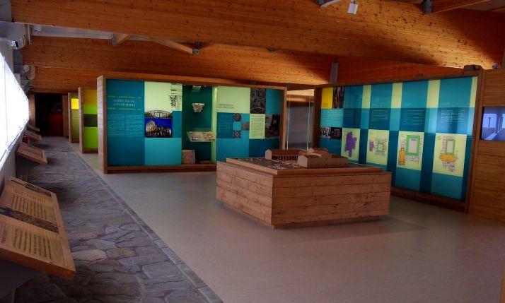 Una imagen del museo Magna Mater, en Cuevas de Soria. /Dip.