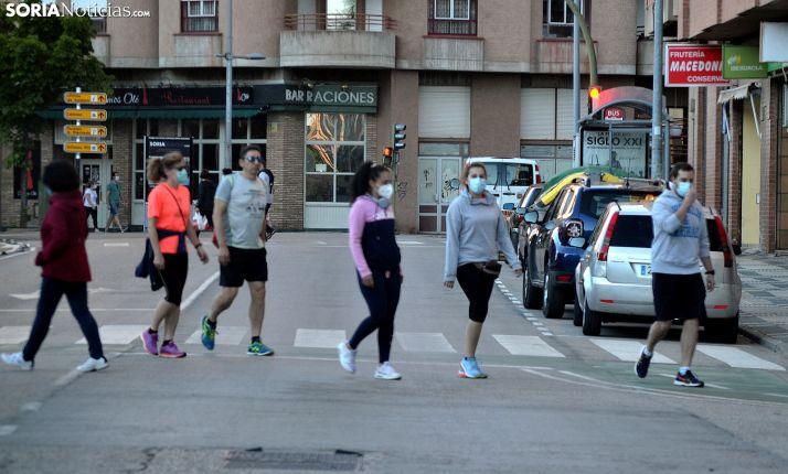 Una imagen de una calle de la capital ayer. /SN