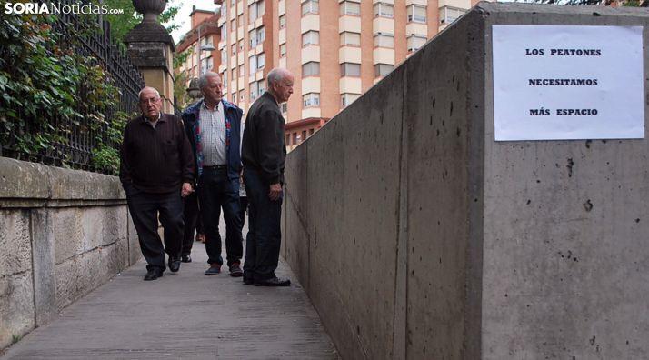 Una imagen de archivo del paso a la salida del parking subterráneo. /SN
