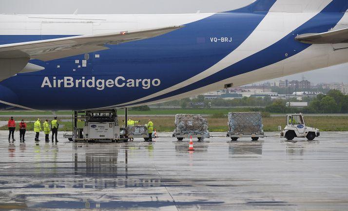 Un cargamento con material procedente de Shangai y con destino a CyL. /Jta.