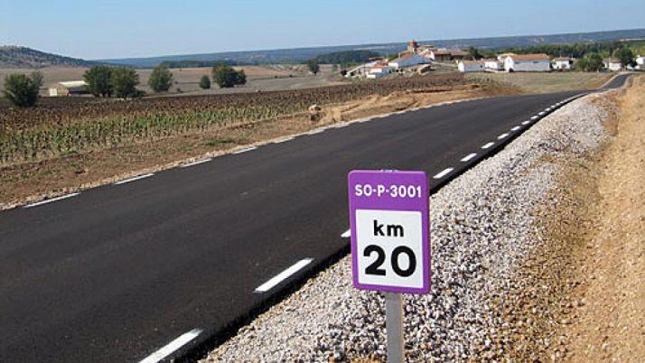 Una carretera de titularidad provincial.