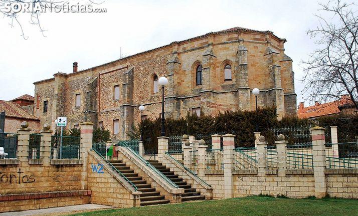 Una imagen del antiguo templo de Santa Clara. /SN