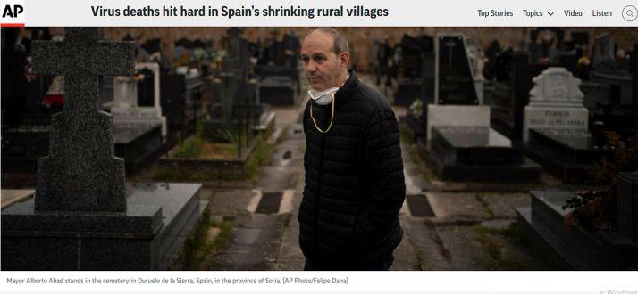 Foto 1 - La situación de Duruelo, extensiva a Pinares y a la provincia, en Apnews