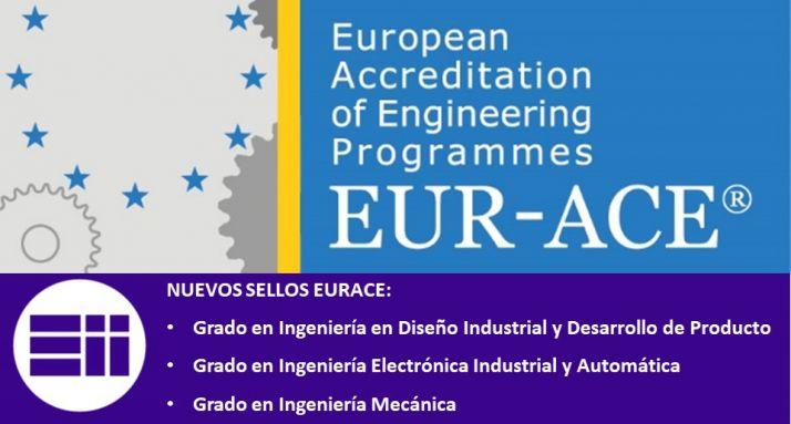 Foto 1 - Tres nuevos títulos de la Escuela de Ingenierías Industriales de la UVa obtienen el Sello Europeo de Calidad EUR-ACE