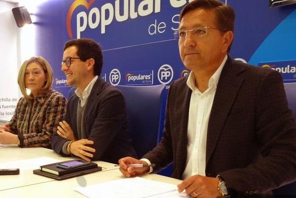 María José Heredia, Tomás Cabezón y Gerardo Martínez.