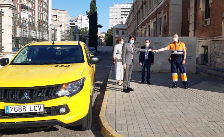 Golmayo ya cuenta con nuevo vehículo para su agrupación de Protección Civil