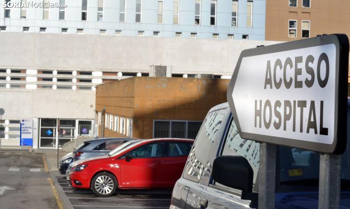 Foto 1 - Ni ingresos ni fallecimientos por Covid-19 en el Hospital de Soria