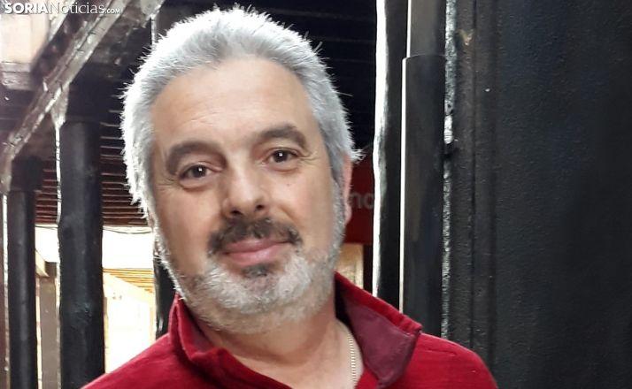 Jesús Barcones, alcalde de Berlanga, esta tarde de domingo. /SN