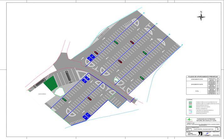 Imagen del proyecto del futuro aparcamiento. /Jta.