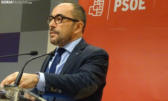 Luis Rey, portavoz del PSOE en la Diputación Provincial.