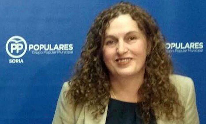 Mayte Delgado, concejala del PP en el Ayuntamiento de Soria.