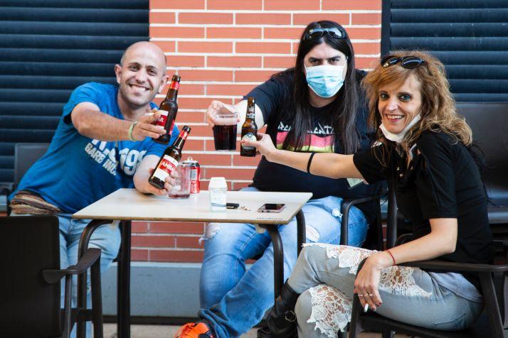 Fotos: Ólvega se toma las primeras cervezas de la fase 1