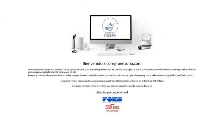 Foto 1 - FOES y FECSoria ponen en marcha 'compraensoria.com' una tienda online con entrega a domicilio