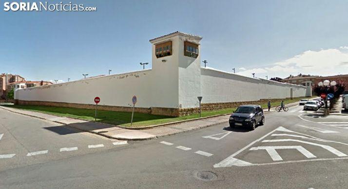 Una imagen de la prisión de Soria. /SN