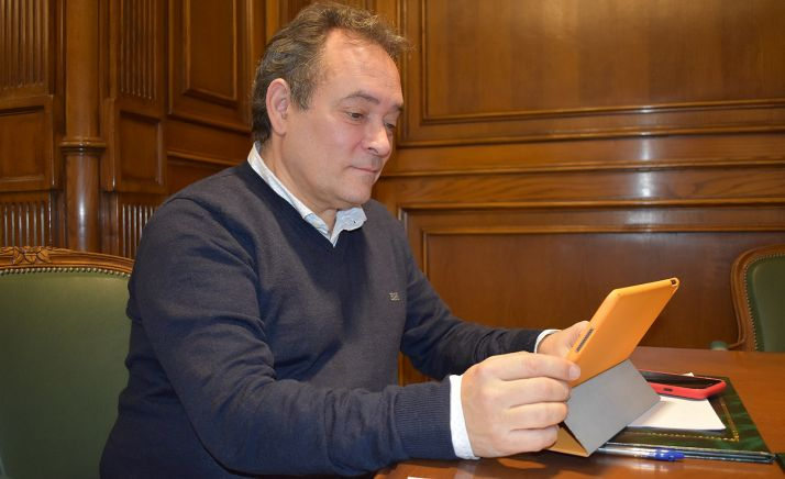 Saturnino de Gregorio, vicepresidente de la Diputación. /Dip.