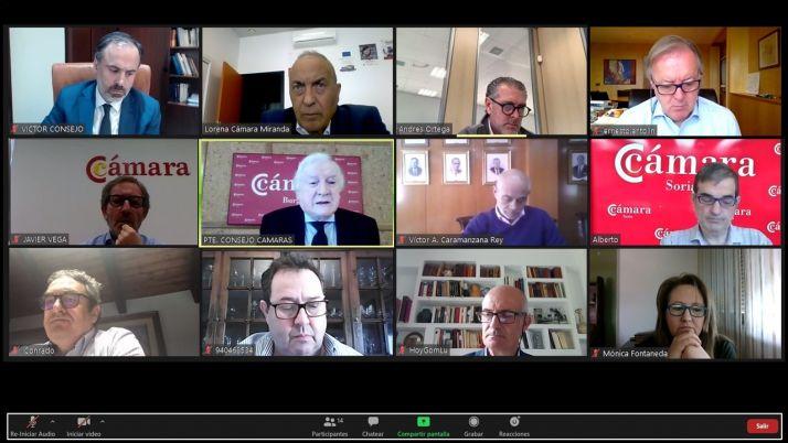 Imagen de la reunión del Comité Ejecutivo.