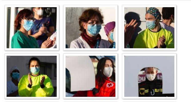 Rostro a rostro: Los héroes sorianos en la lucha contra el Coronavirus