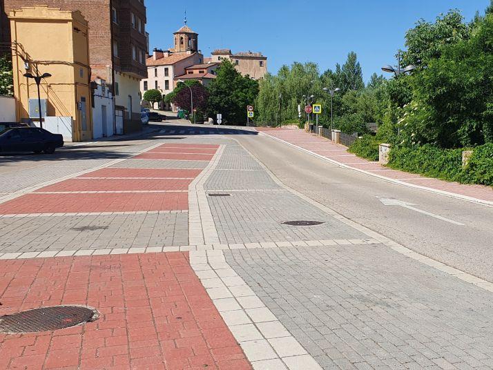 Calle Henchidero de Almazán.
