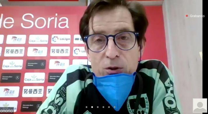 El médico del Club Deporitvo Numancia, el doctor Honorio Martínez.