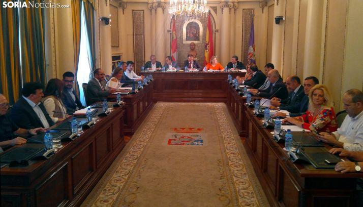 Pleno de la Diputación en una imagen de archivo.