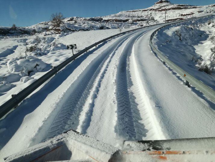 Foto 1 - La campaña de vialidad invernal termina con reducidas intervenciones