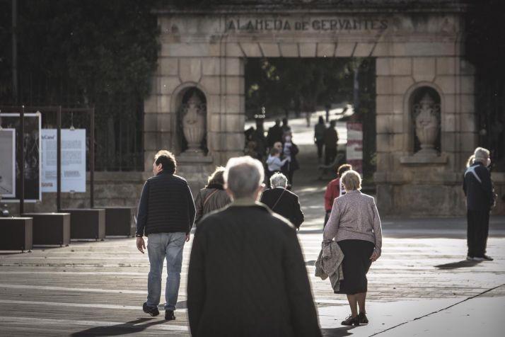 Foto 1 - Detenido un vecino de La Barriada por pasear por el centro de Soria