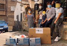Una empresa arcobrigense dona alimentos para beneficiar a 20 familias