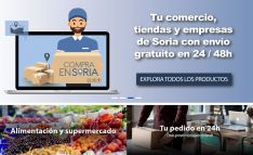 La tienda online 'Compra en Soria' inicia su andadura con el sorteo de un carrito de productos val