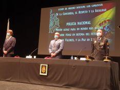 Una imagen del acto celebrado esta tarde en el Palacio de la Audiencia. /Subdelegación del Gobierno