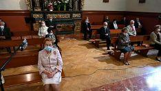 """Foto 3 - El obispo en Ágreda: """"No podemos hacer borrón y cuenta nueva"""""""