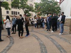 Una imagen de los participantes en la concentración de este domingo. /SN