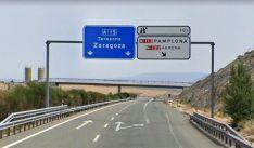 Imagen de la variante de Ágreda, ya en funcionamiento, de la Autovía de Navarra.