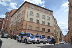 Una imagen del operativo policial pasado el mediodía. /SN