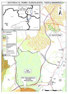 Foto 2 - Declarado favorable el impacto ambiental para el tramo Ágreda-Tudela de la A-15