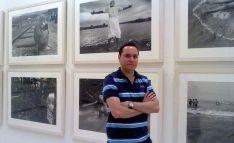 El adnamantino, con algunos de sus trabajos. /PMM