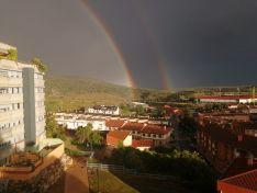 Foto 6 - Fotos: Los arcoíris recorren la provincia de Soria dejando espectaculares imágenes