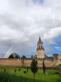 Foto 5 - Fotos: Los arcoíris recorren la provincia de Soria dejando espectaculares imágenes