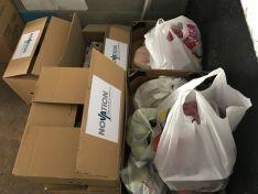 Foto 3 - Una empresa arcobrigense dona alimentos para beneficiar a 20 familias