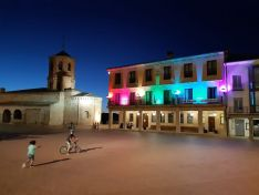 Fachada del Ayuntamiento de Almazán.