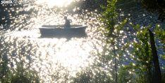 Una imagen de las orillas del río este Lunes de Bailas. /SN