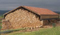Lagar de Gormaz reconstruido.