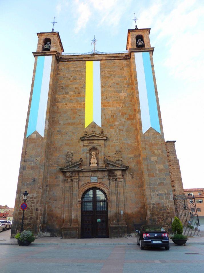 Foto 1 - Ágreda inicia las Fiestas de la Virgen de los Milagros en las que solo habrá actos religiosos litúrgicos