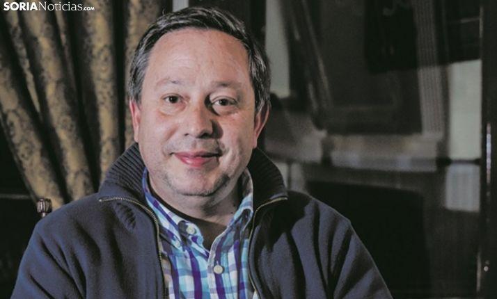 Adolfo Sainz, vicepresidente de FEC Soria. /SN