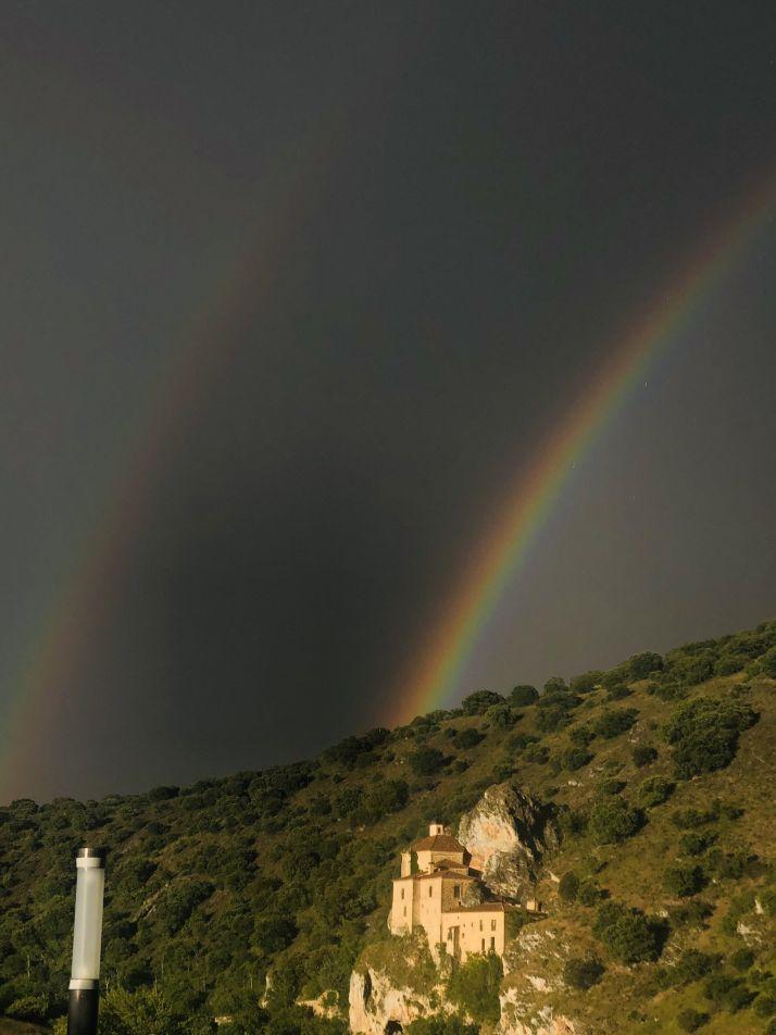 Una imagen de la ermita de San Saturio, proporcionada por la agrupación de vecinos de Los Pajaritos.