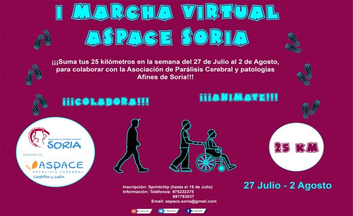 Foto 1 - Aspace presenta su primera 'Marcha virtual' con la que obtener fondos para su nuevo centro